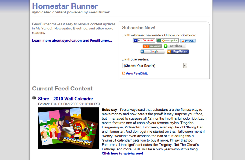 File:Homestar Runner - powered by FeedBurner.png