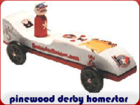 pinewood derby homestar