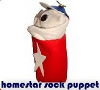 homestar sock puppet