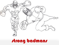 strong badmans