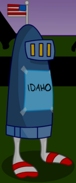 The Knight As Idaho