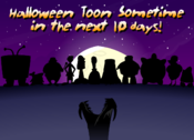 Halloween Toon Sometime in the next 10 days!