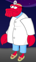 The Poopsmith As Dr. Zoidberg