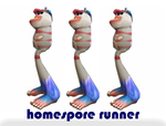 Everyone loves the Homespore Runner. He is a terrific Sporethlete.