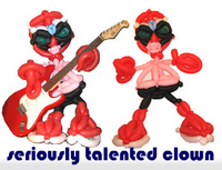 seriously talented clown