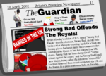 """Strong Bad offends the royals!"""