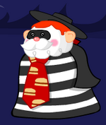 The King of Town as The Hamburglar