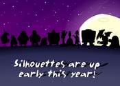 Silhouettes are up early this year!