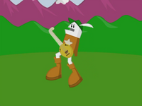 Homestar is all prancy now