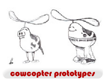 Cowcopter Prototypes