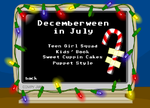 Decemberween, Decemberween, you're 7 months after you should've been...